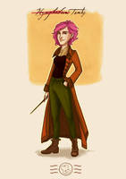 Order of the Phoenix - Nymphadora Tonks by aidinera