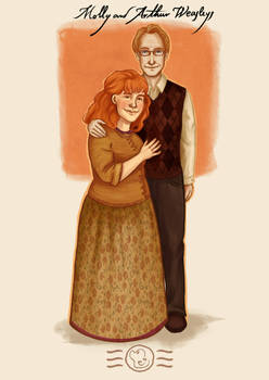 Order of the Phoenix - Molly and Arthur Weasleys