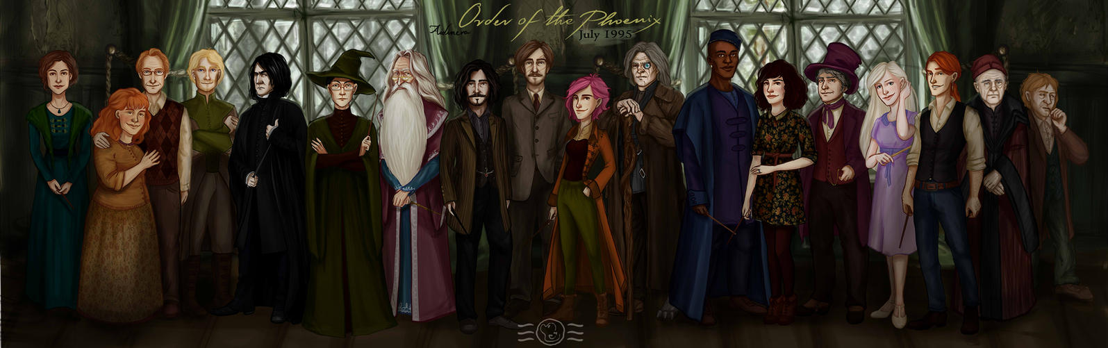 Order of the Phoenix 1995 by aidinera