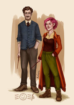Remus and Tonks (the third)