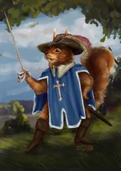 The musketirrel