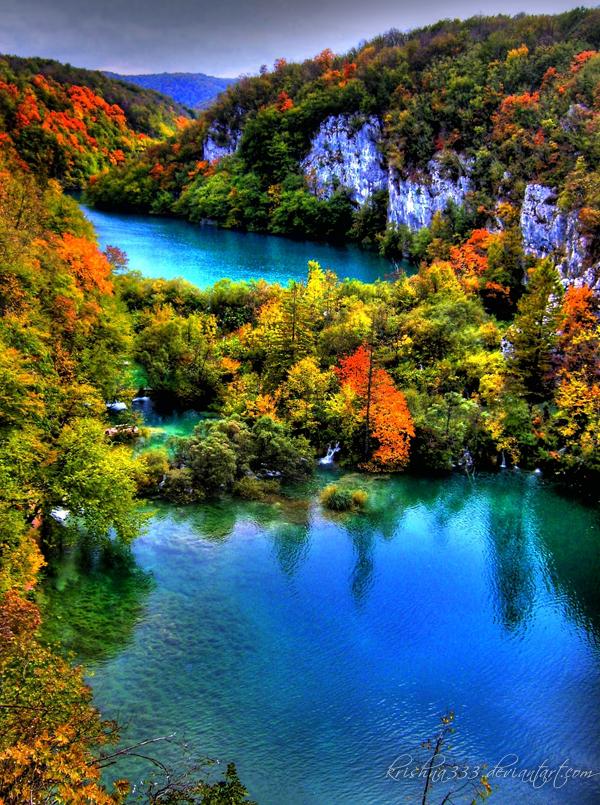 Plitvice Lakes 9 by Krishna333