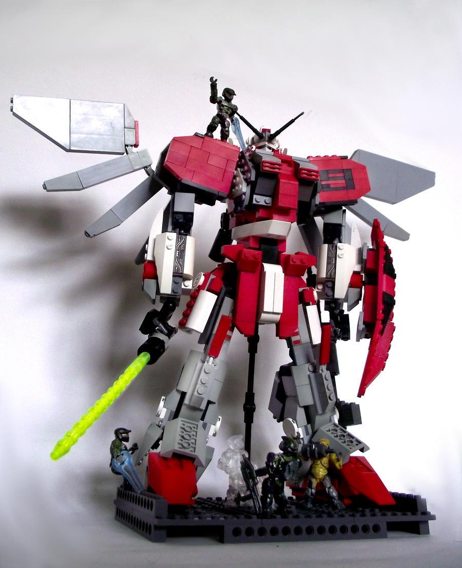 Lego Gundam S Custom 01 by Evil-Cozmo