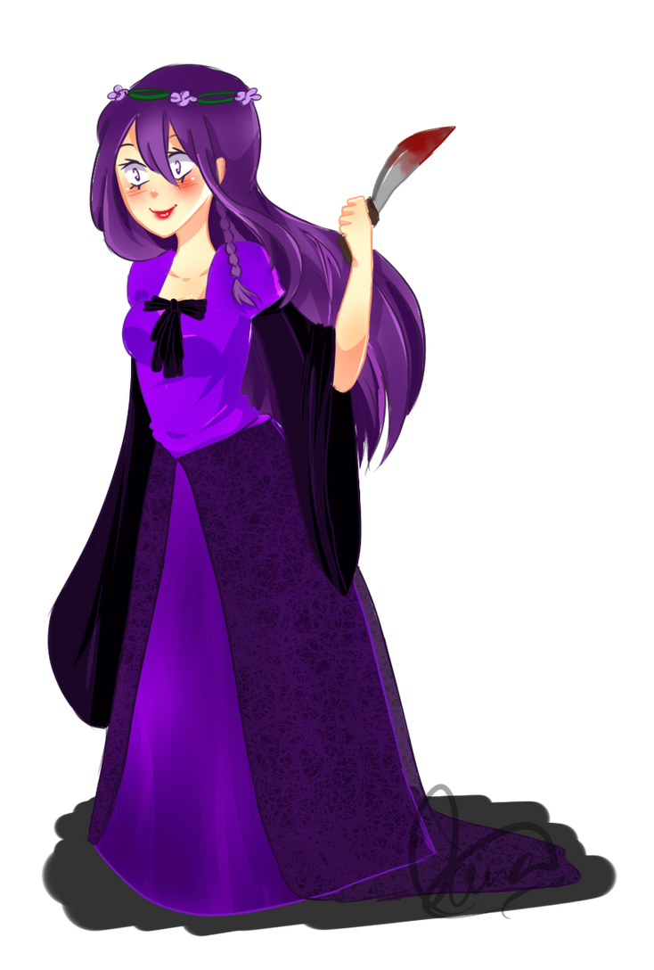 violet calfuray by pepperlicious
