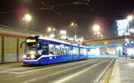 Bombardier NGT6 by night