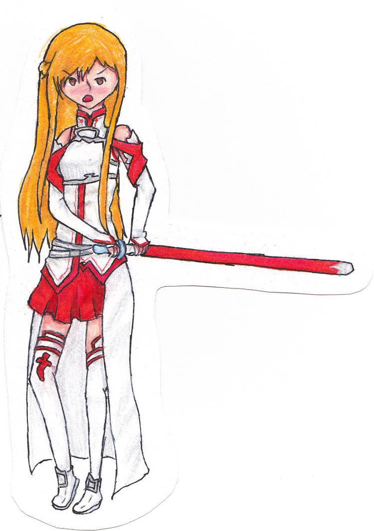 Asuna PapaerChild by MeiTakahashi