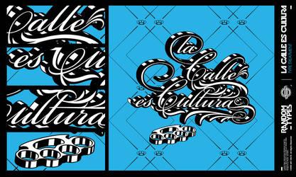LA CALLE ES CULTURA by shadyau