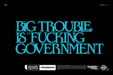 THE BIG TROUBLE Print by shadyau