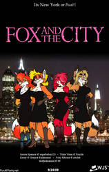Fox and the City by wolfjedisamuel