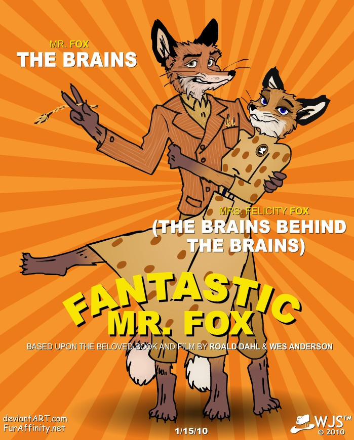 Fantastic Mr Fox By Wolfjedisamuel On Deviantart