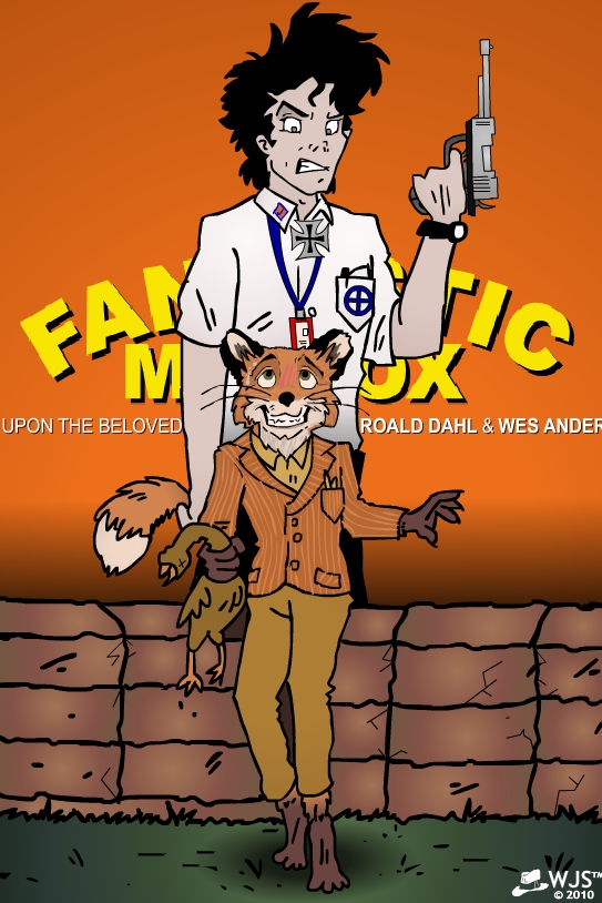 Fantastic Mr Fox Wolf Poster
