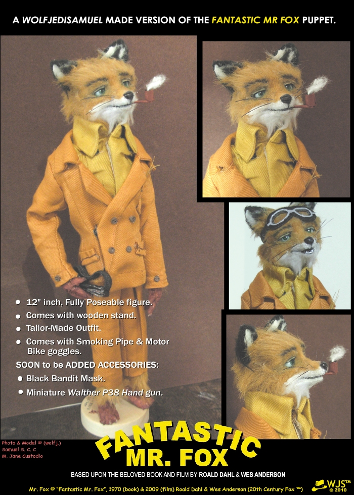 Fantastic Mr Fox Puppet By Wolfjedisamuel On Deviantart