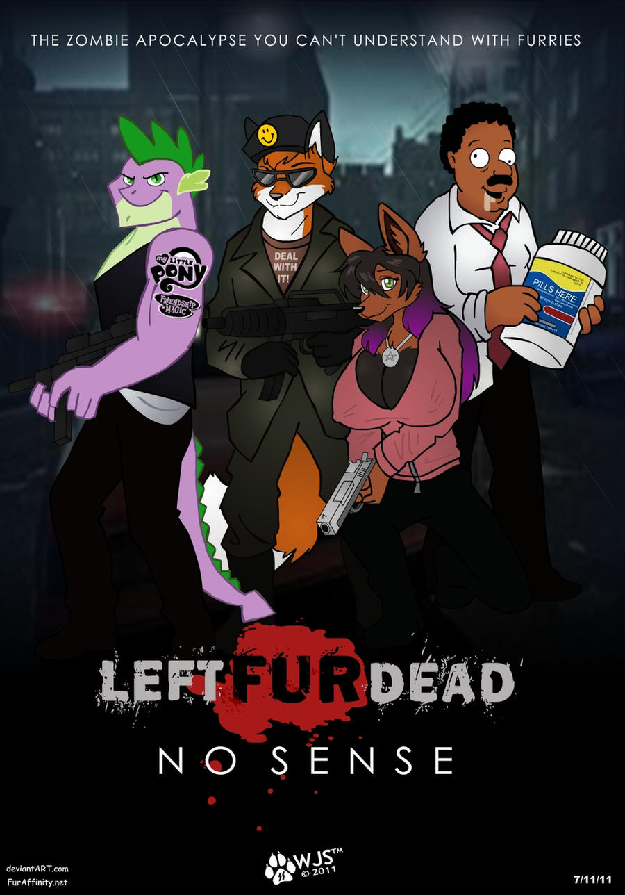 Left Fur Dead by wolfjedisamuel