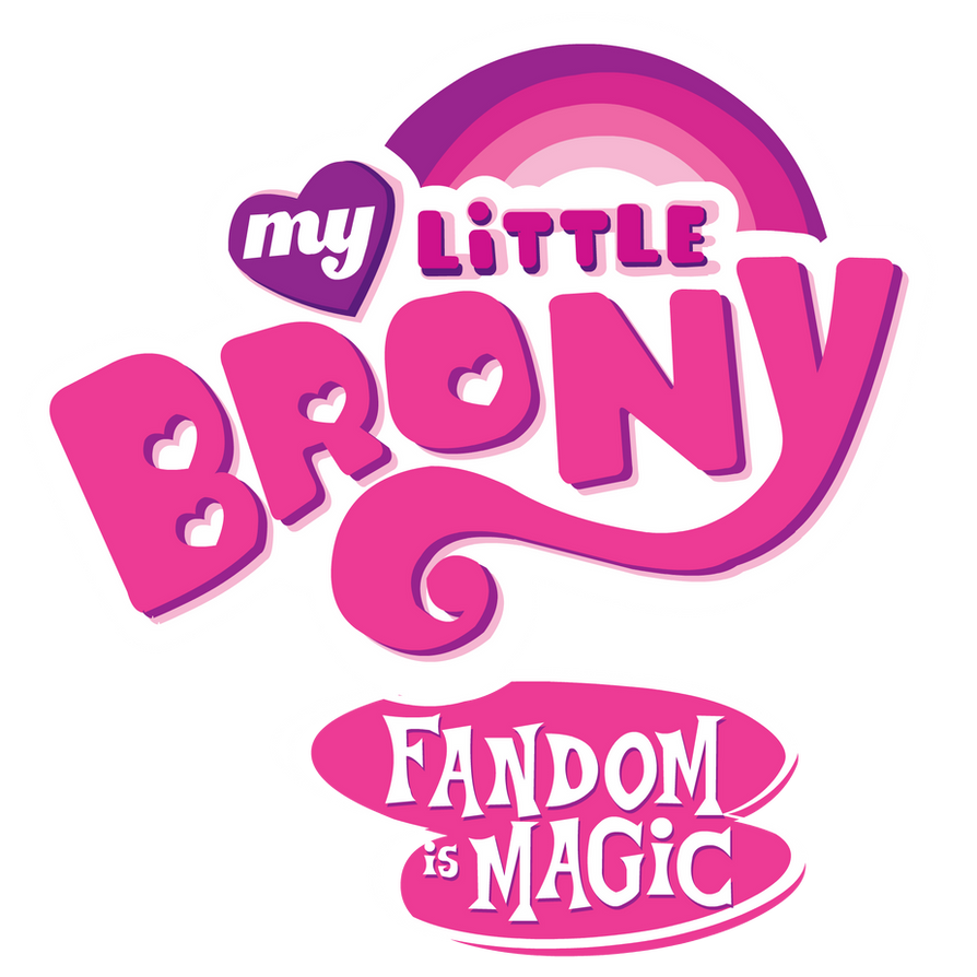 My Little Brony logo by wolfjedisamuel