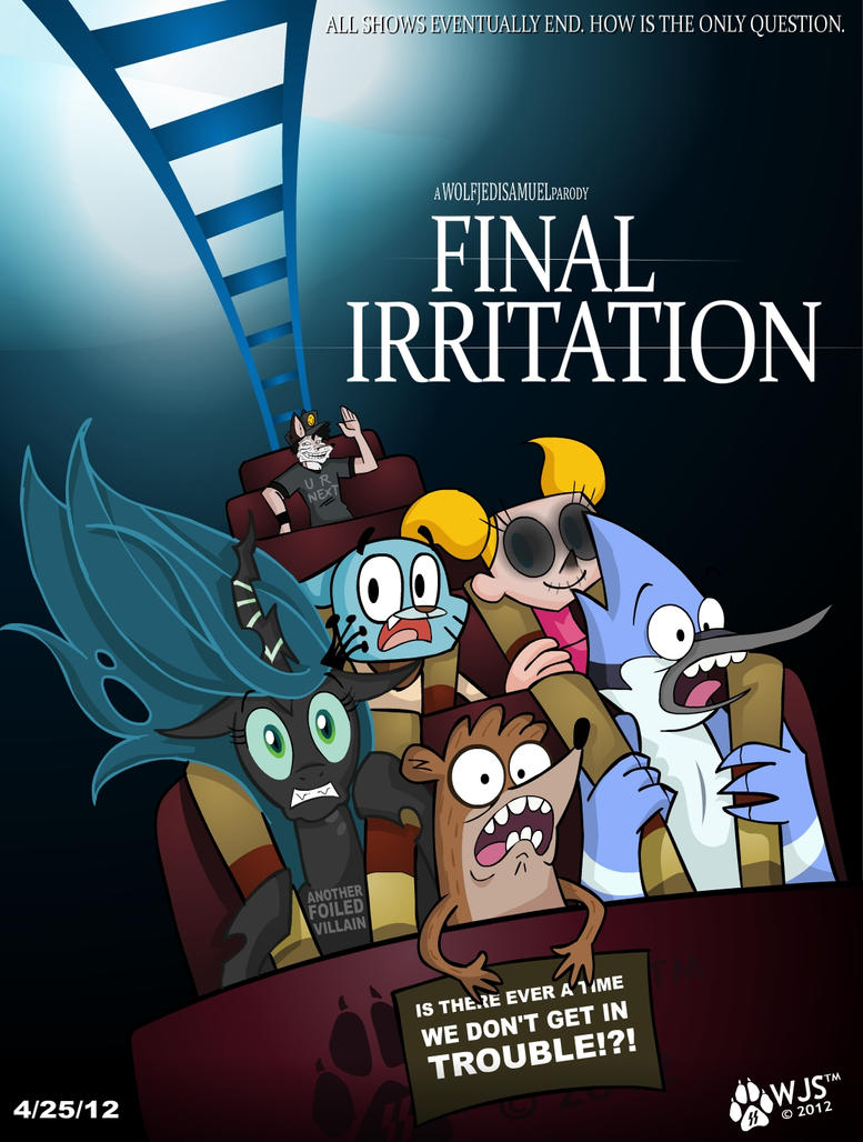 Final Irritation by wolfjedisamuel