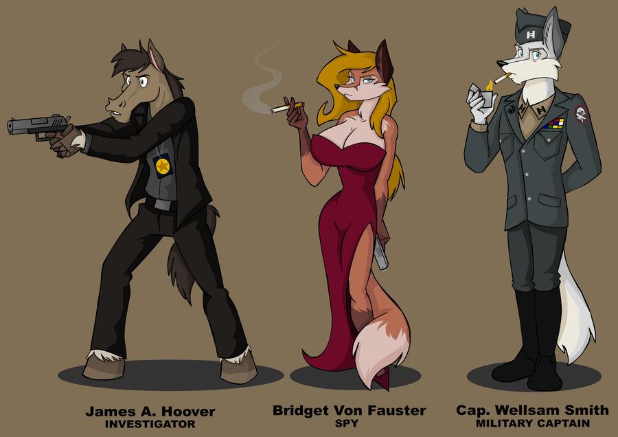 Bloodjack - WJS Characters Design by wolfjedisamuel