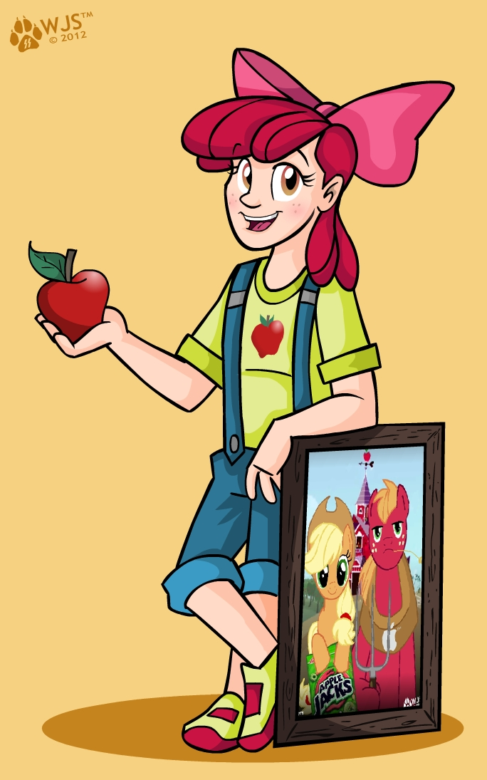 Apple Bloom by wolfjedisamuel