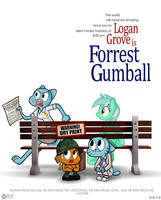 Forrest Gumball by wolfjedisamuel