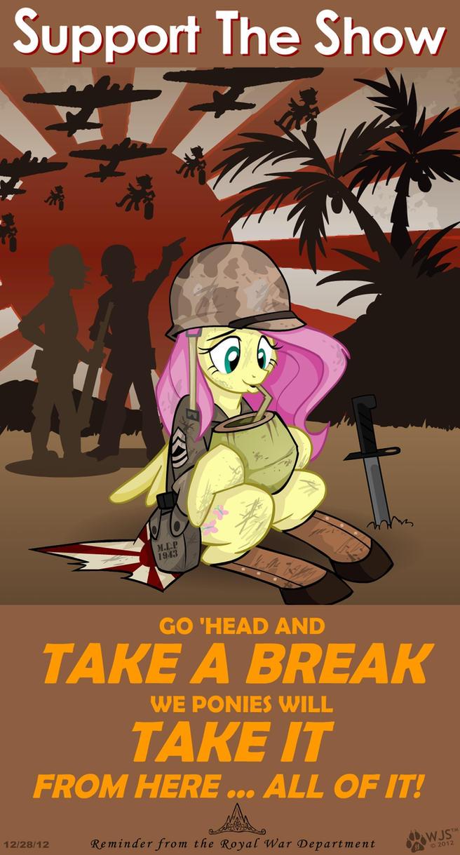 Take a Break by wolfjedisamuel