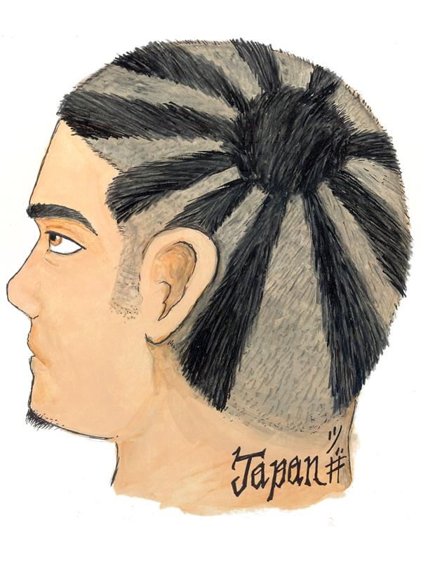 Line Art Hair : Line art hair by wolfjedisamuel on deviantart