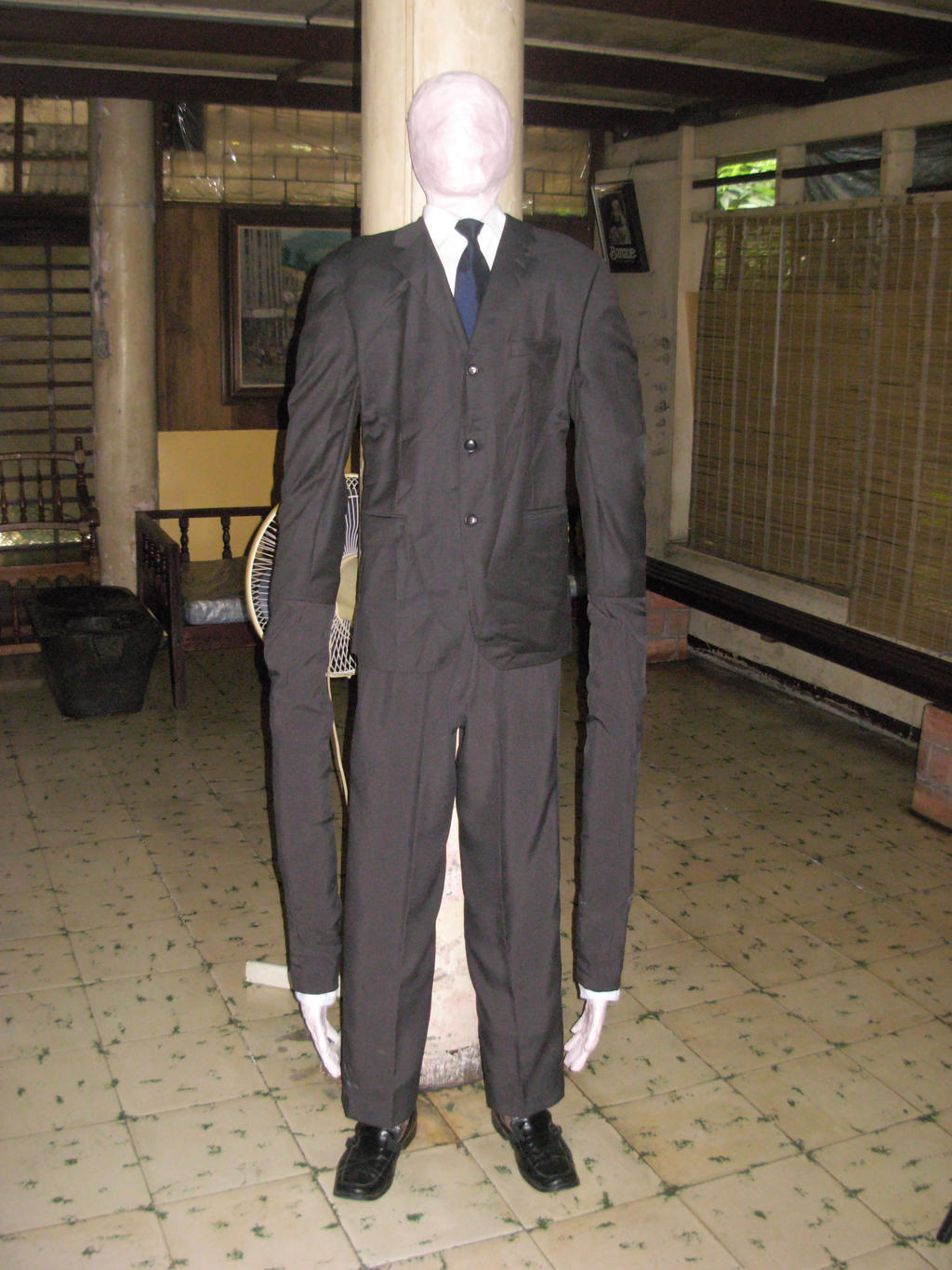 The Slender Man (also known as Slenderman) is a supernatural creature with nebulously defined characteristics and abilities. Slender Man was first mentioned in Something Awful Forum's