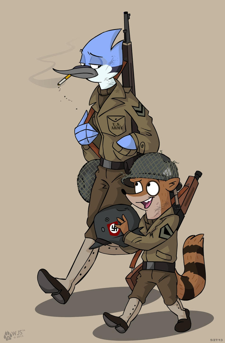 Regular Soldiers by wolfjedisamuel