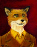 Mr. Fox - Oil Painting