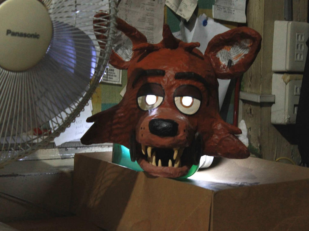 Pirate Cove Foxy - Mask (WIP) 2 by wolfjedisamuel