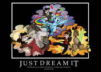 Dream It by wolfjedisamuel