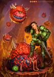 Doom Slayer Genderbend by Juligan