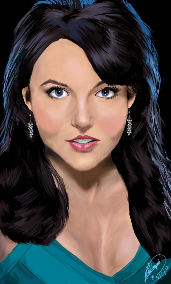 Angelique Boyer Portrait By Harryguzman On Deviantart