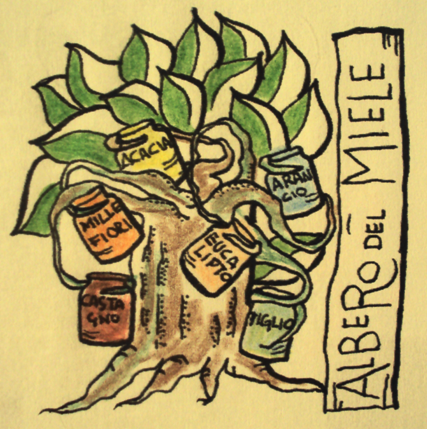 albero del miele- the honey tree by greder