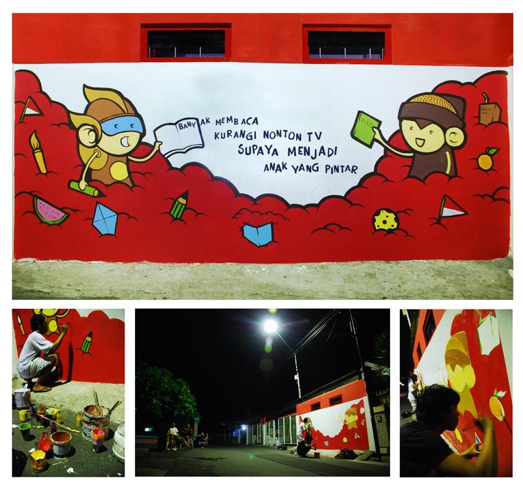 mural merah putih by rase4