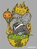 elephant witch by rase4
