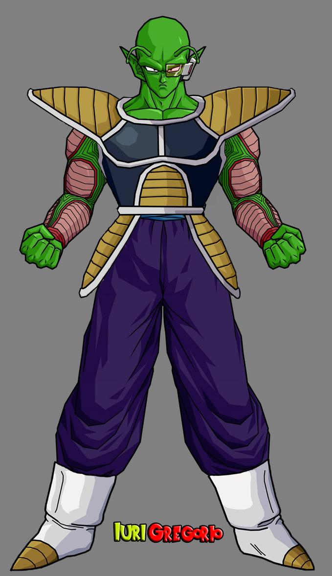 Piccolo With Sayian Armor by iurigregorio on DeviantArt
