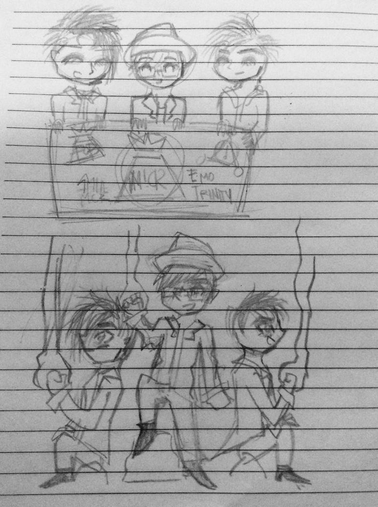The Emo Trinity by TheAmazingBella22