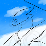 Clear Skies and Snow [YCH] by AuraLuv