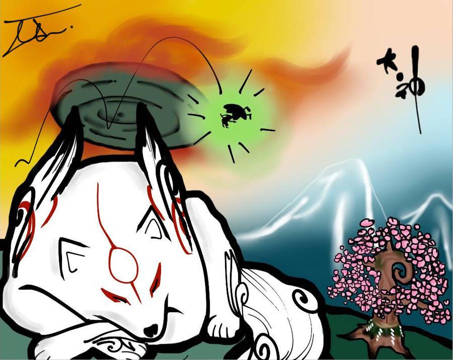Okami by NienorGreenfield