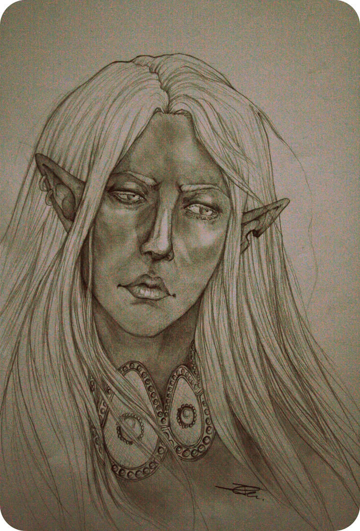 Drow by NienorGreenfield