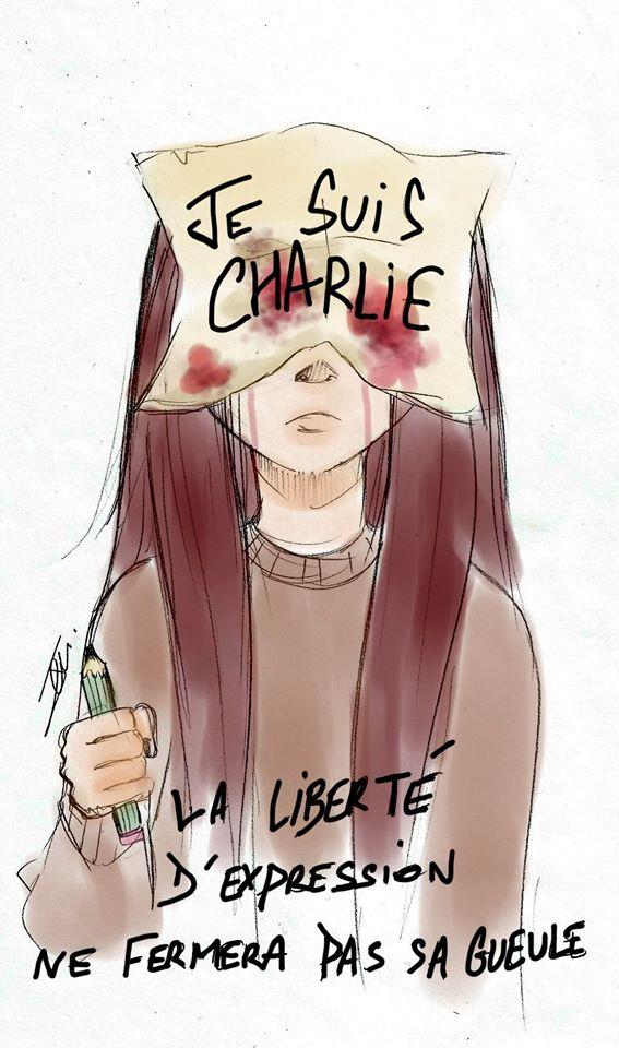 Je suis Charlie by NienorGreenfield