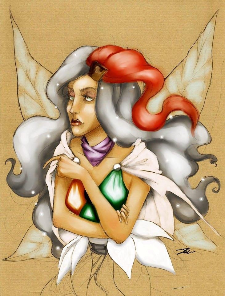 Fairy Alexandra by NienorGreenfield