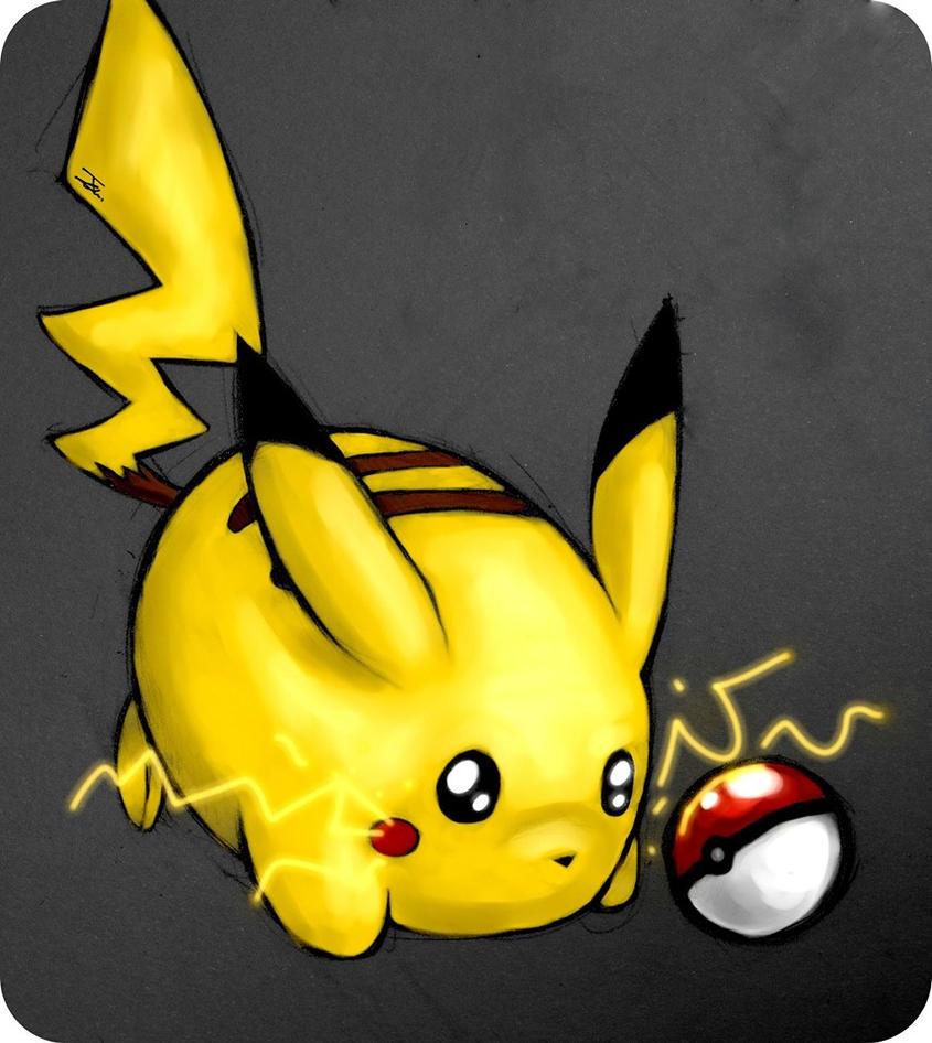 Pikachu by NienorGreenfield