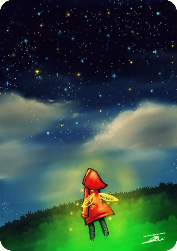 Falling Star by NienorGreenfield