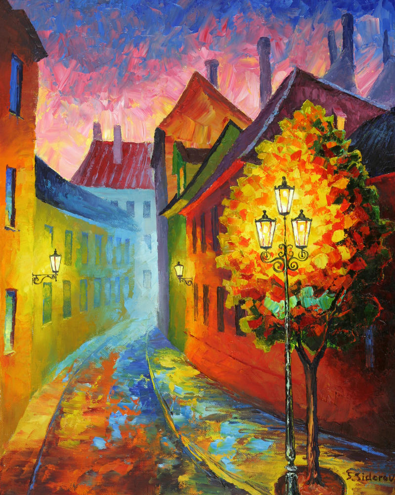 Lamp Post by Doominowskiy on DeviantArt for Lamp Post Painting  186ref