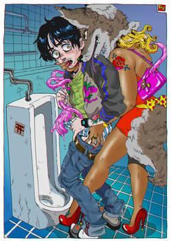 The thirteenth line restroom