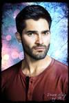 Tyler Hoechlin - Derek Hale Portrait 02 by Elettra