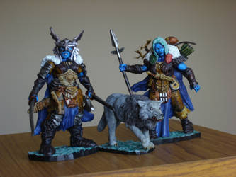Reaper Miniatures Frost Giants by Shakalooloo