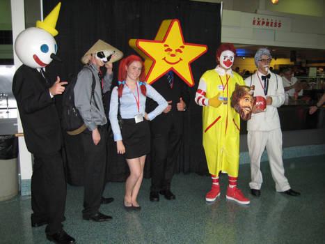 AX 2010 - Fast Food Mascots