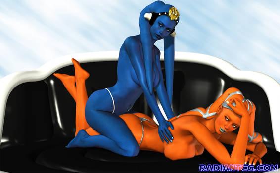 Twi'lek Birthday Massage by Giolon