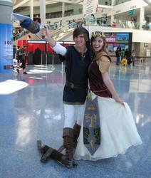 AX2011 - Link and Zelda